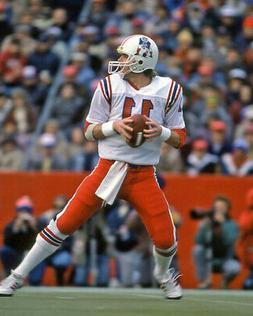 1986 New England Patriots TONY EASON Glossy 8x10 Photo NFL F