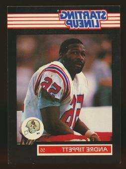 1989 Kenner Starting Lineup SLU Andre Tippett New England Pa