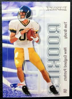 2000 Skybox Impact #27 Tom Brady Rookie Reprint - Mint - New