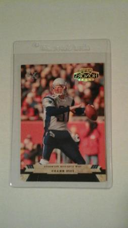 2005 Playoff Honors Tom Brady Xs parallel set 87/299 New Eng