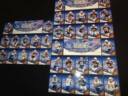 2007 New England Patriots Boston Globe Uncut Sheet Upper Dec