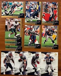 2009 Upper Deck & SP Authentic New England Patriots Team Set