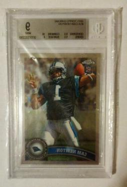 2011 Topps Chrome CAM NEWTON Rookie RC Graded BGS 9 Mint new