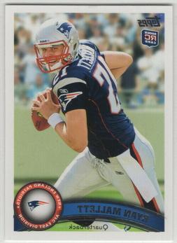 2011 Topps Football New England Patriots Team Set