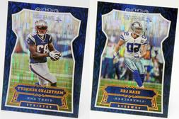 2016 Panini Chainmail Armor Parallel Set Singles Football Sp