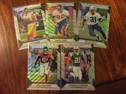 2016 Panini Prizm PRIZMS BLUE WAVE Parallel Football Cards -