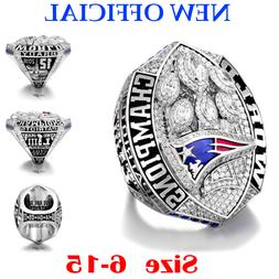 2018-2019 NEW OFFICIAL New England Patriots Championship Rin