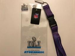 2018 Super Bowl LII 52 New England Patriots. Ticket Holder.