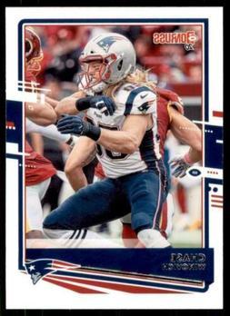 2020 Donruss Base #173 Chase Winovich - New England Patriots