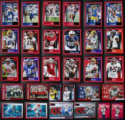 2020 Panini Score Red Parallel Football Cards Complete Your