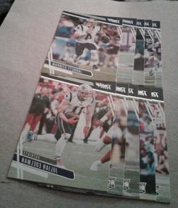 2020 Prestige New England Patriots Team Set, Devin Asiasi RC