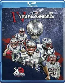 3 Games to Glory Vi: New England Patriots - Blu-Ray Region 1