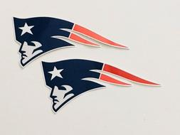 4x New England Patriots Car Bumper Window Laptop Wall Vinyl