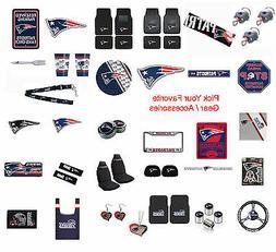 New England Patriots Pick Your Gear / Automotive Accessories