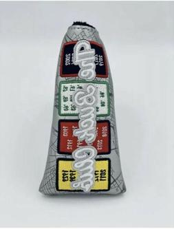 THE BUCK CLUB Boston Banner BLADE Golf Putter Cover Red Sox