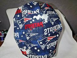 Bouffant surgical scrub hat cap NFL football blue white new