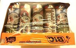 Display of 50 BIC NEW ENGLAND PATRIOTS NFL FOOTBALL Lighters