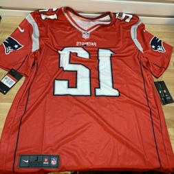 Nike Dri-Fit Tom Brady Red New England Patriots Inverted Leg