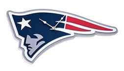 Foam Fanatics New England Patriots 3D Foam Wall Clock