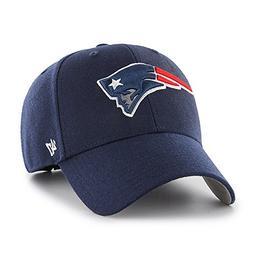 New England Patriots Hat NFL Authentic 47 Brand MVP Adjustab
