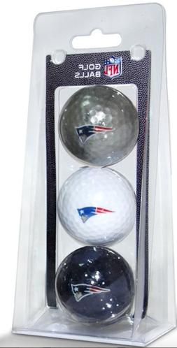NEW ENGLAND PATRIOTS NFL 3 BALL PACK SIZE ONE