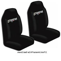 NFL New England Patriots Car Truck 2 Front Seat Covers Set -