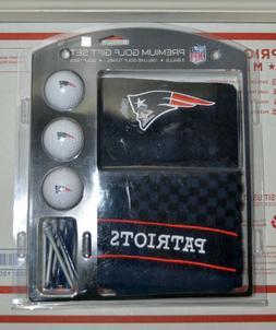 Final Sale!!! NIB NFL New England Patriots Premium Golf Gift