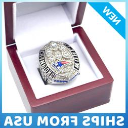 FROM USA - NEW ENGLAND PATRIOTS 2019 Ring Official Super Bow