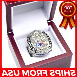 FROM USA- Super Bowl LIII Ring 2018 2019 OFFICIAL New Englan