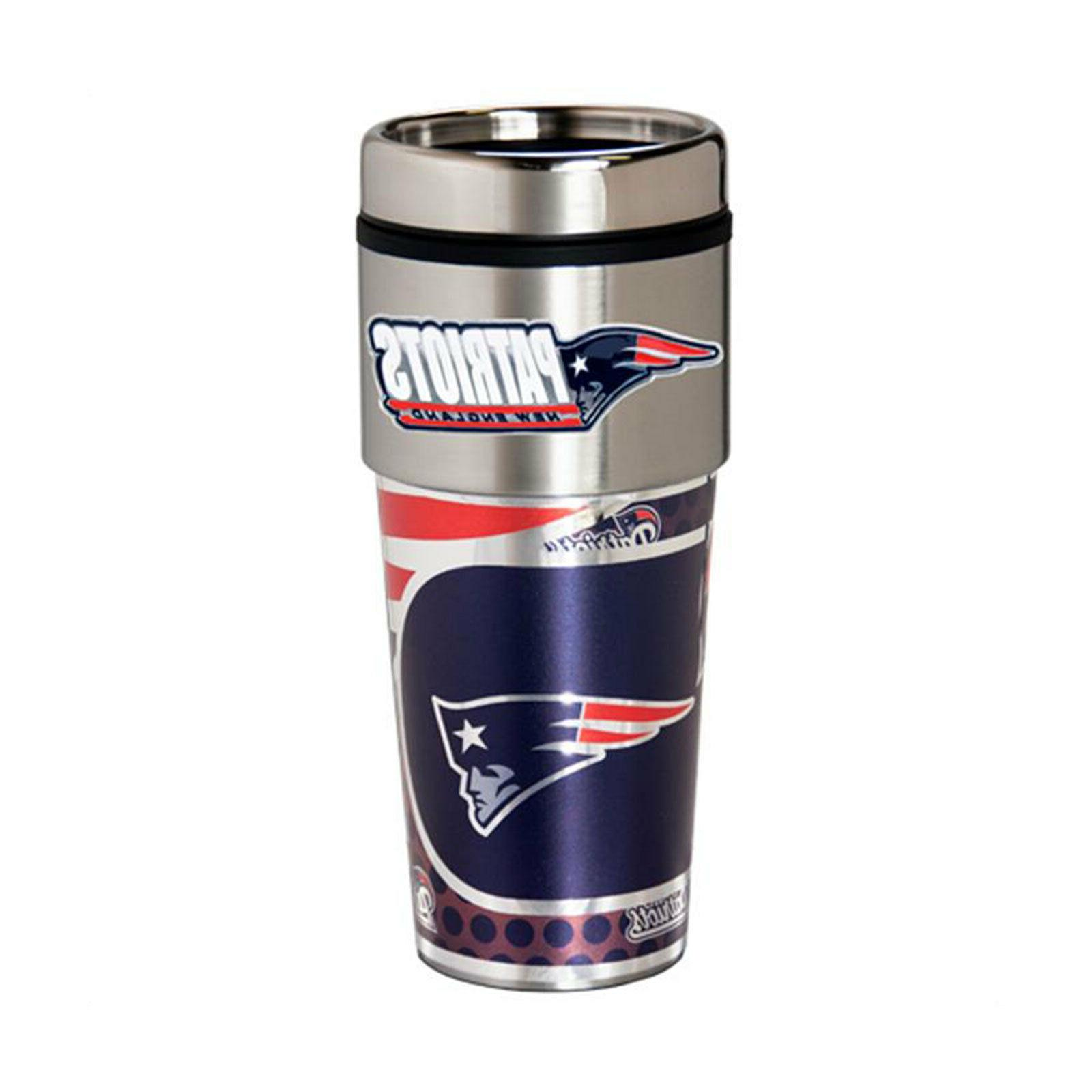 england patriots stainless steel tumbler