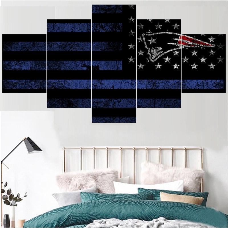 <font><b>Ball</b></font> Team <font><b>Patriots</b></font> For Wall Art Home Decor Picture Painting For