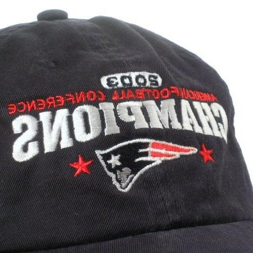 New England AFC Champions Souvenir Slouch