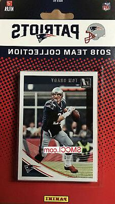 New England Patriots 2018 Donruss Factory Team Set Tom Brady
