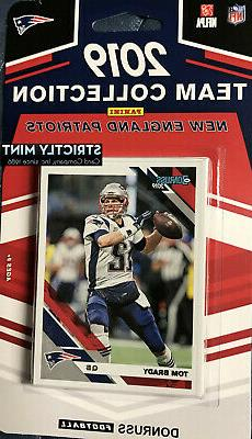 New England Patriots 2019 Donruss Team Set Tom Brady Gronk H
