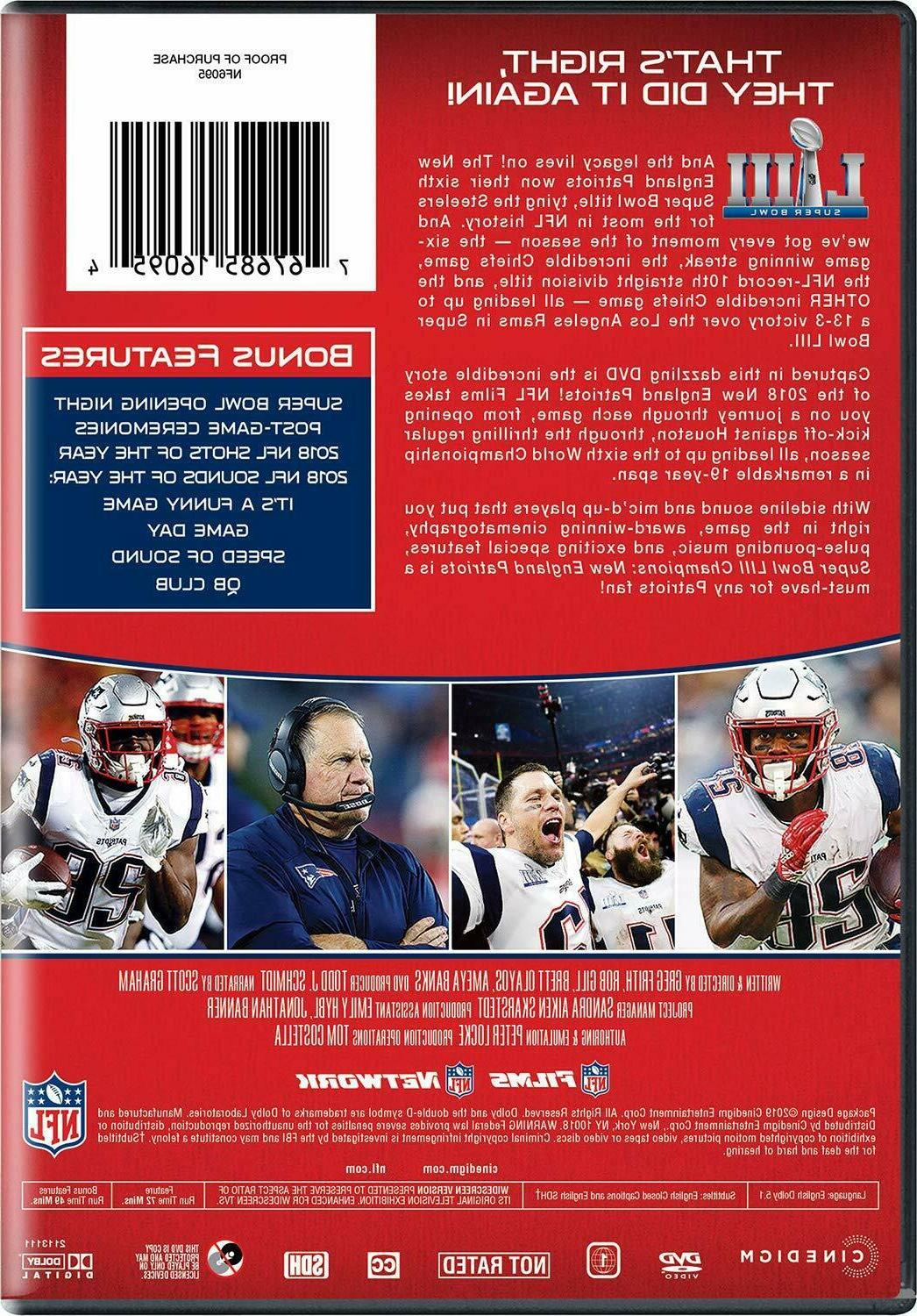 New England 2019 Super Bowl Films Tags FREE SHIPPING