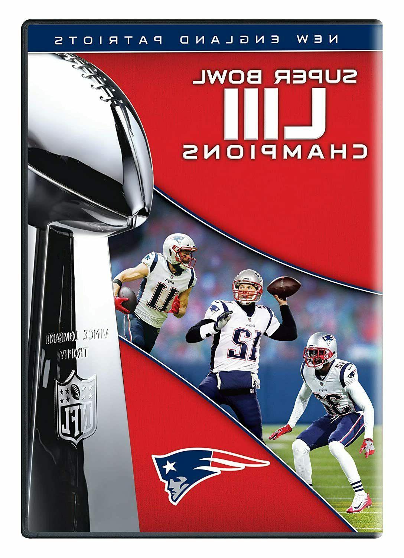 New England Patriots 2019 Super Bowl 53 NFL Films DVD New w/