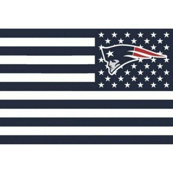new england patriots 3x5 foot american flag