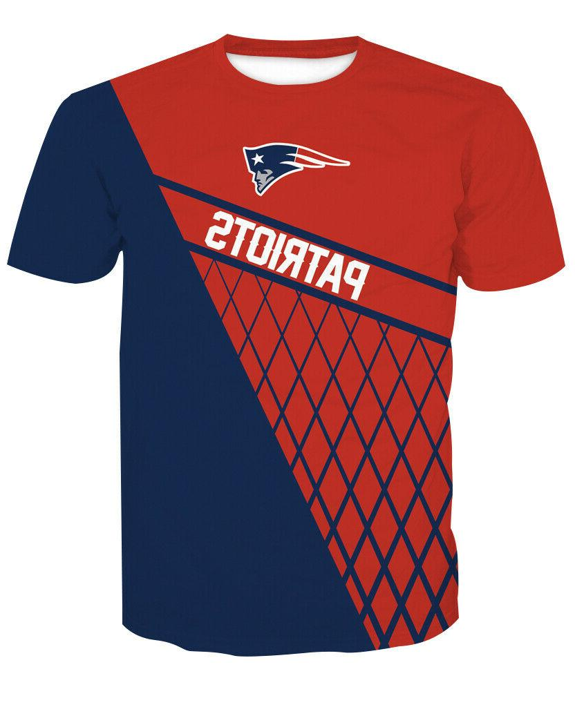 New England Patriots T-Shirt Sleeve