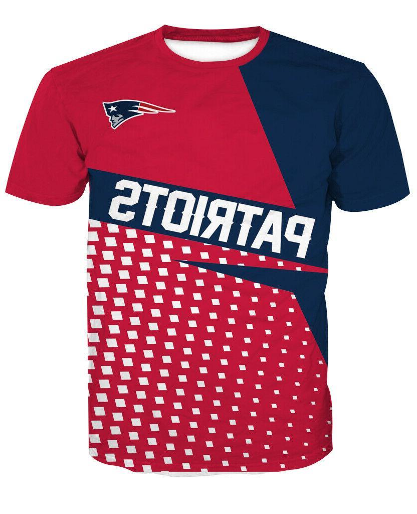 new england patriots football t shirt sport