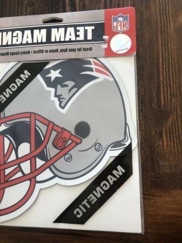 New Patriots Magnet Football Car