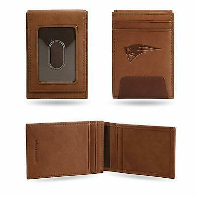 new england patriots nfl brown leather money