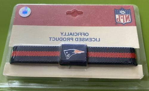 new england patriots nfl licensed bracelet wristband