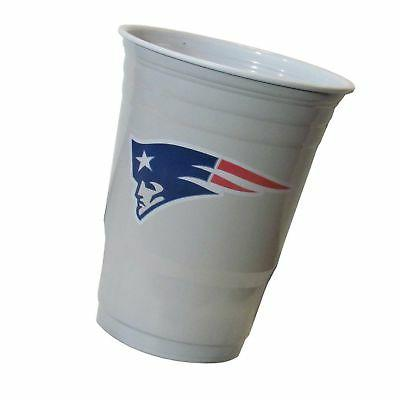 new england patriots plastic gameday cups 18oz