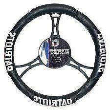 New England Patriots Steering Wheel Cover