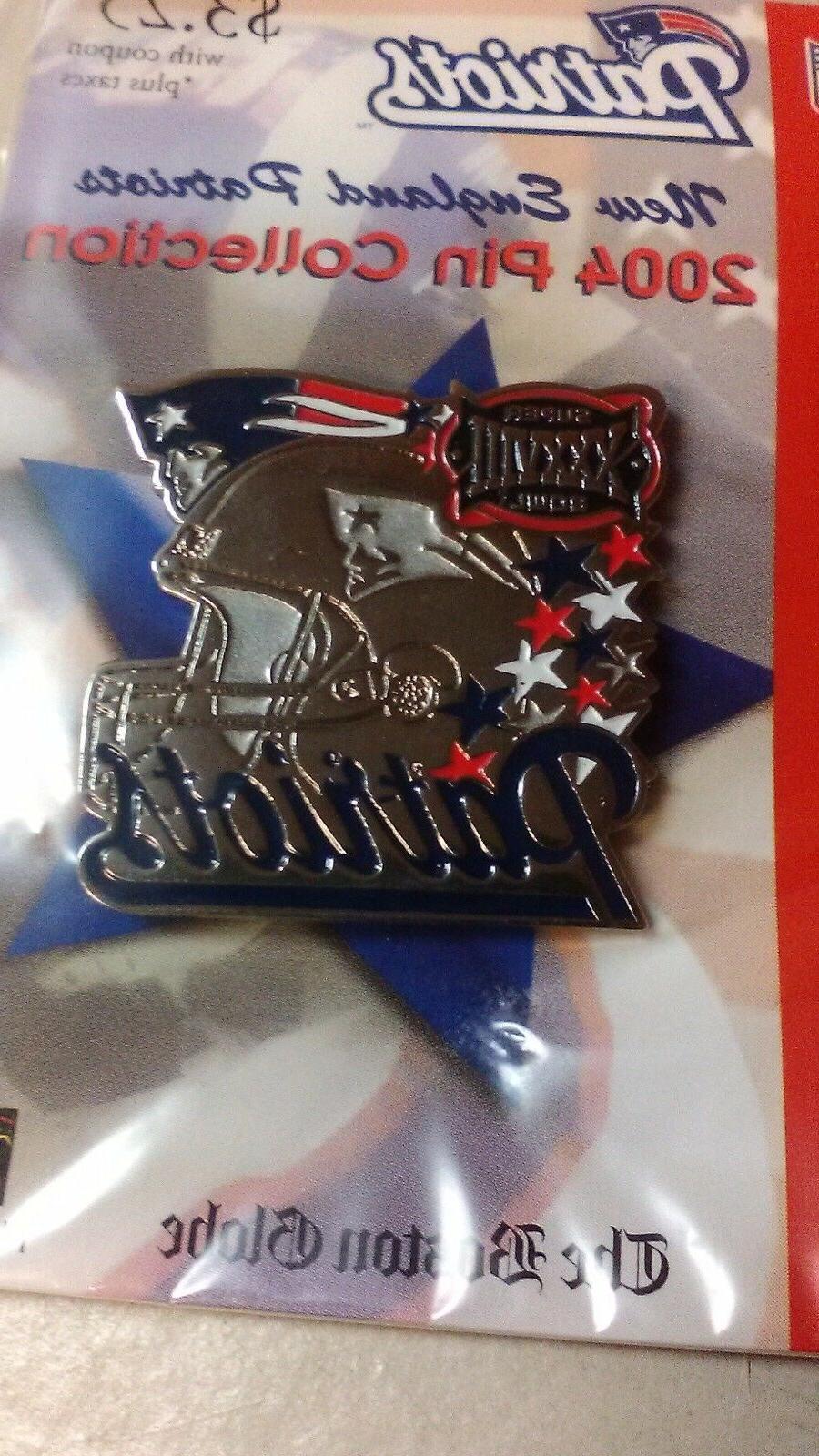 new england patriots superbowl xxxviii pin brand