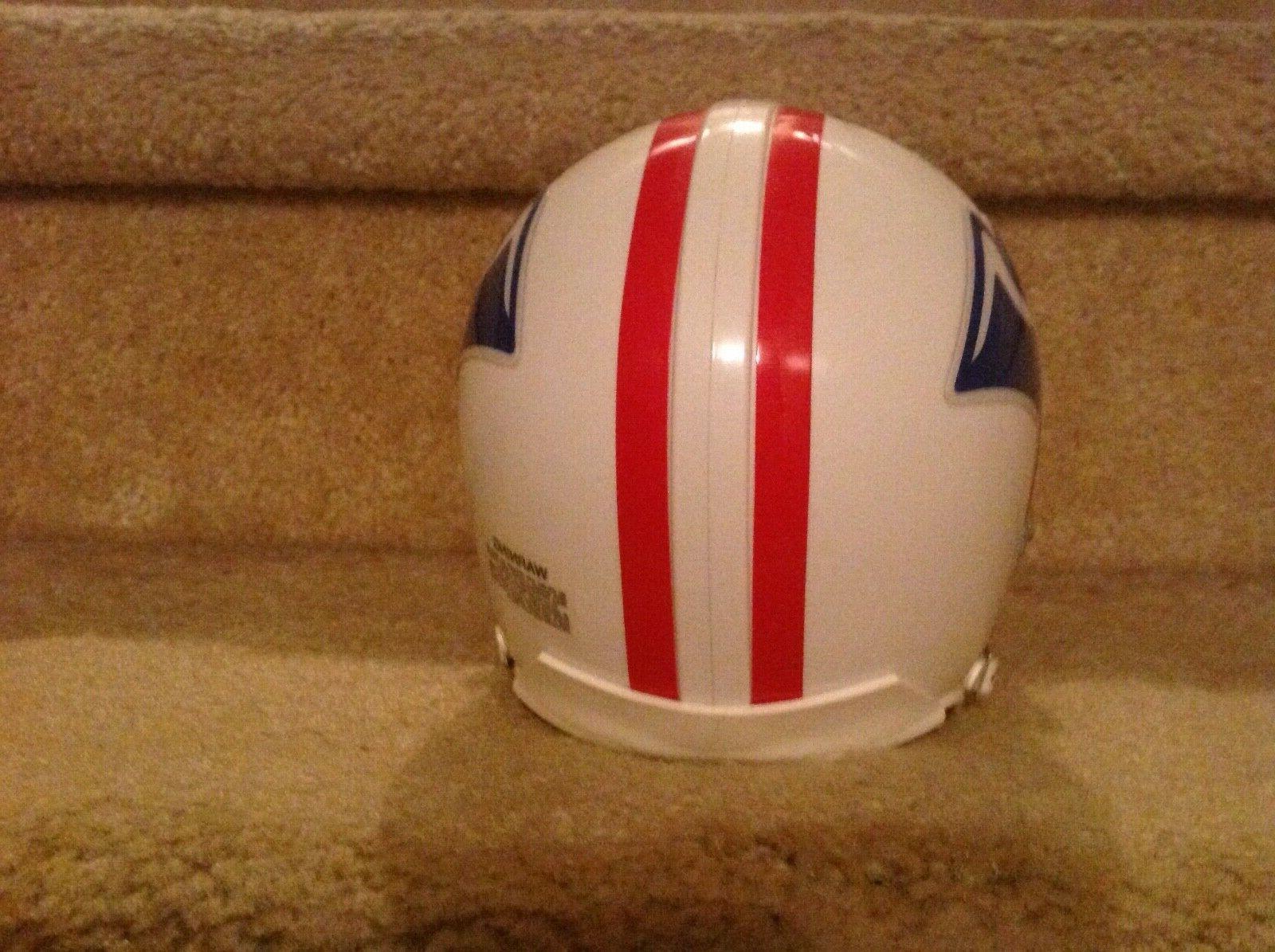 New Patriots mini Football Helmet RIDDELL Boston