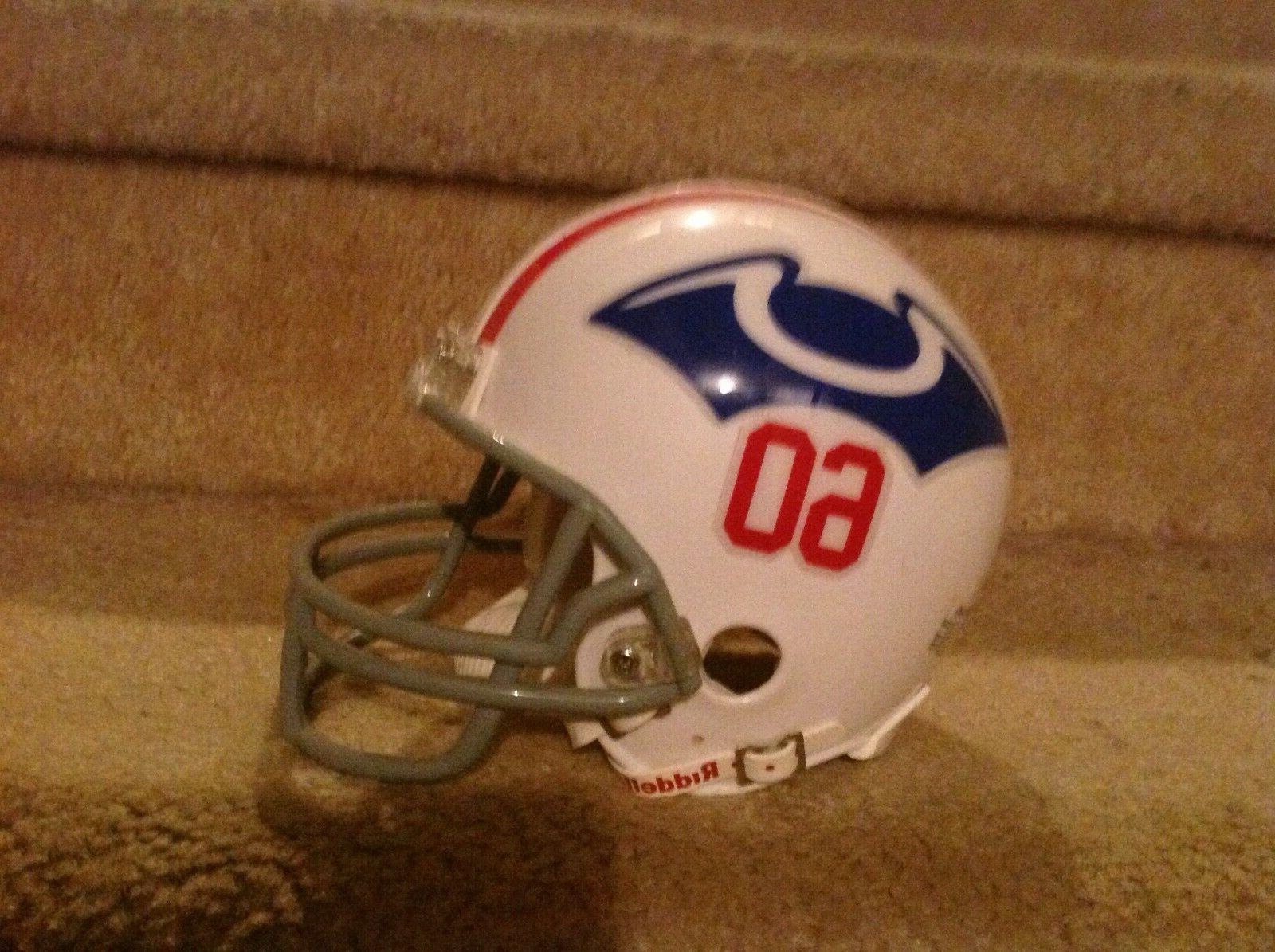 New England mini Football Helmet authentic RIDDELL Boston