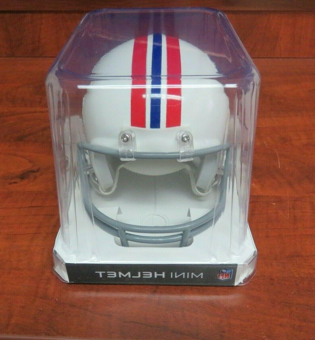 NEW NFL ENGLAND PATRIOTS Riddell Helmet