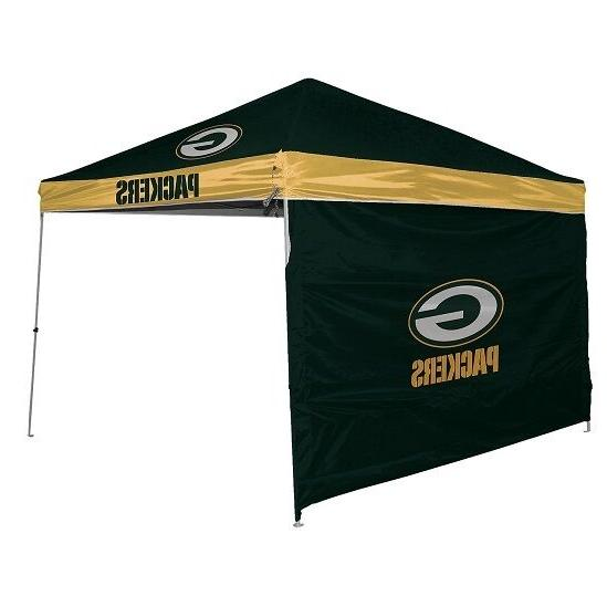 nfl 9 x 9 canopy with wall