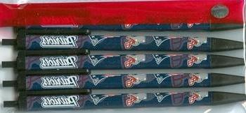 NFL New England Patriots Disposable Ink Click Pens,